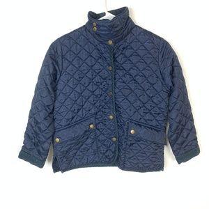 Ralph Lauren Blue Barn Quilted Jacket Coat M 8/10